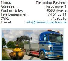 Vognmandsfirmaet Flemming Paulsen